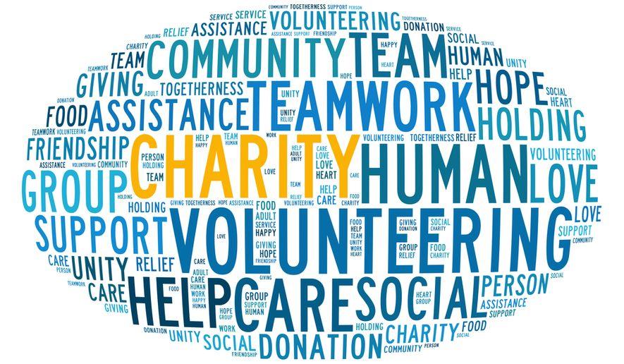Various charities that donate